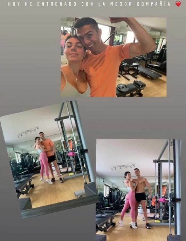 Kristijano Ronaldo i Georgina
