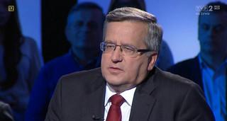 Bronisław Komorowski będzie w podręcznikach prezydentem jeszcze trzy lata
