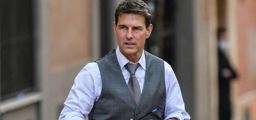 Co się stało z twarzą Toma Cruise'a? Fani aktora mocno zaniepokojeni. ZDJĘCIA