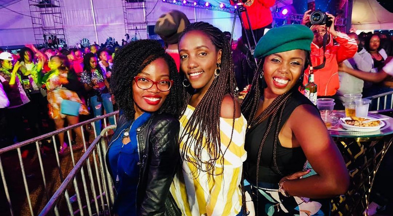 Fashion moments at the Jameson Connects Kenya concert (Photos)