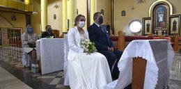 Wzięli ślub w czasach zarazy
