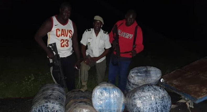 Près de 300 kg de chanvre saisis entre Mbour et Diouloulou