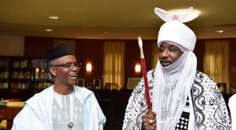 El-Rufai appoints Sanusi Chancellor of Kaduna University