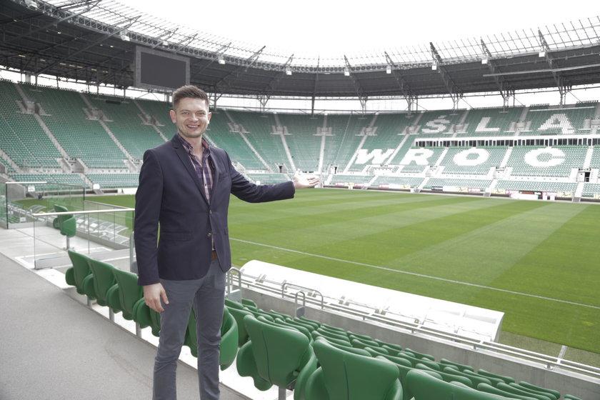 Adam Burak (30 l.), rzecznik spółki Wrocław 2012