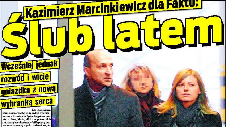 Marcinkiewicz latem znów się ożeni