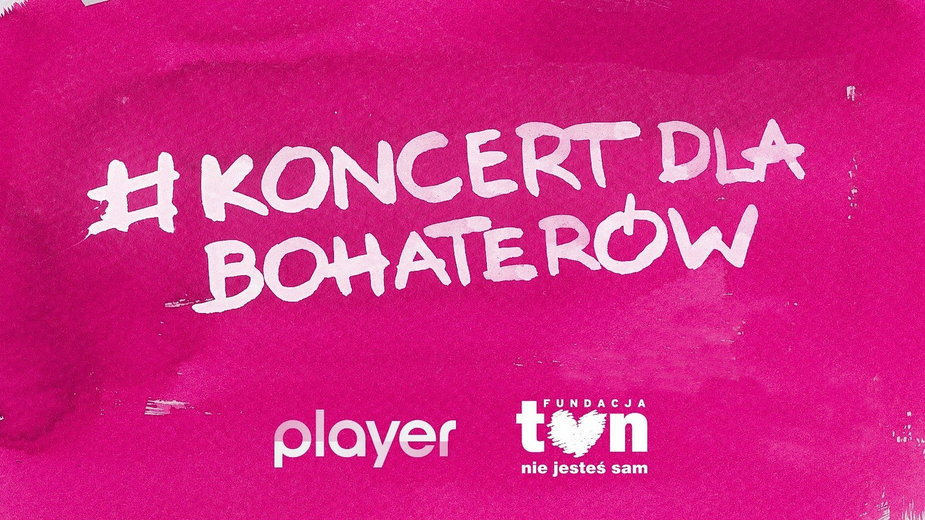 #Koncertdlabohaterów: charytatywny koncert TVN