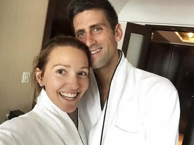 Jelena je ovim rečima ispratila Novaka u finale: E pa, Nole, znaš šta ti je ČINITI