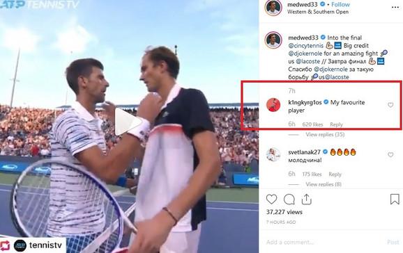 Ovako je Nik Kirjos reagovao kada je video da je Novak Đoković izgubio u polufinalu Sinsinatija od Danila Medvedeva