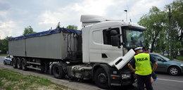 Karambol w Krakowie. Kierowca tira usłyszał zarzuty