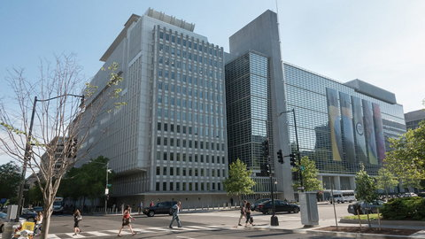 The World Bank office in the US (World Bank)