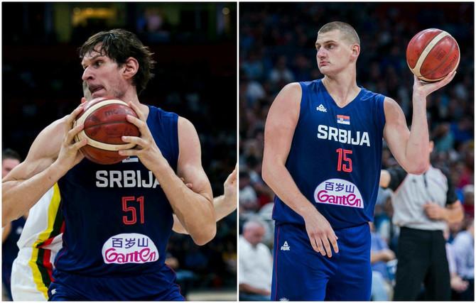 Bobi i Nikola proslavili pobedu nad Litvanijom u velikom stilu