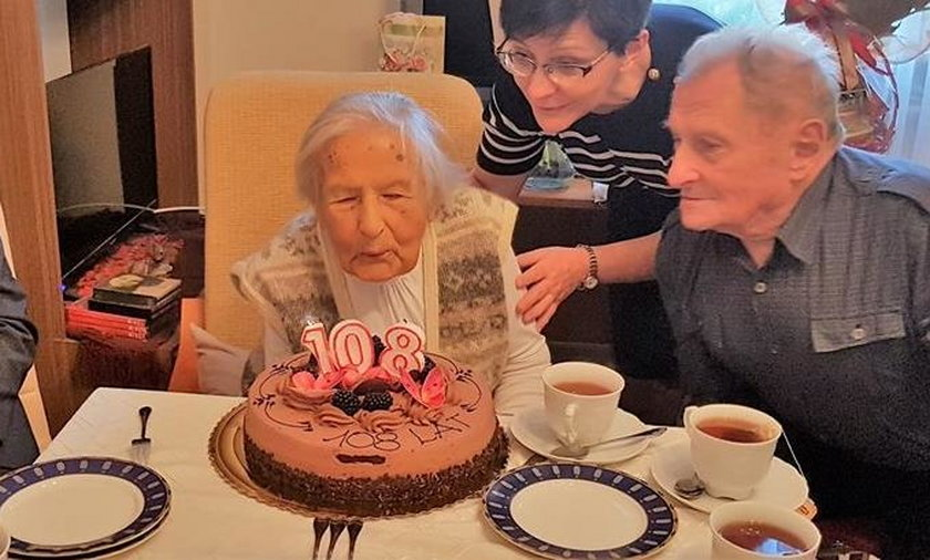 Pani Aniela skończyła 108 lat