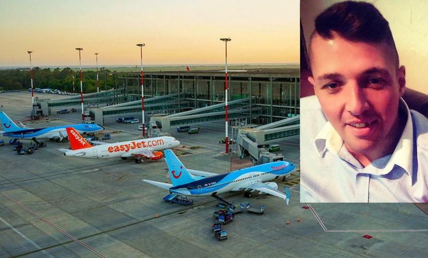 Tajemnicza śmierć 30-letniego turysty. Wypadł z samolotu na płytę lotniska?