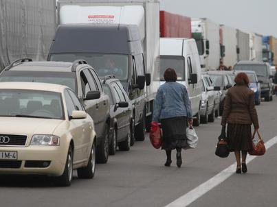 Kuźnica Białostocka. Przejście graniczne z Białorusią.