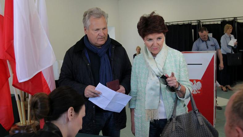 Jolanta i Aleksander Kwaśniewscy