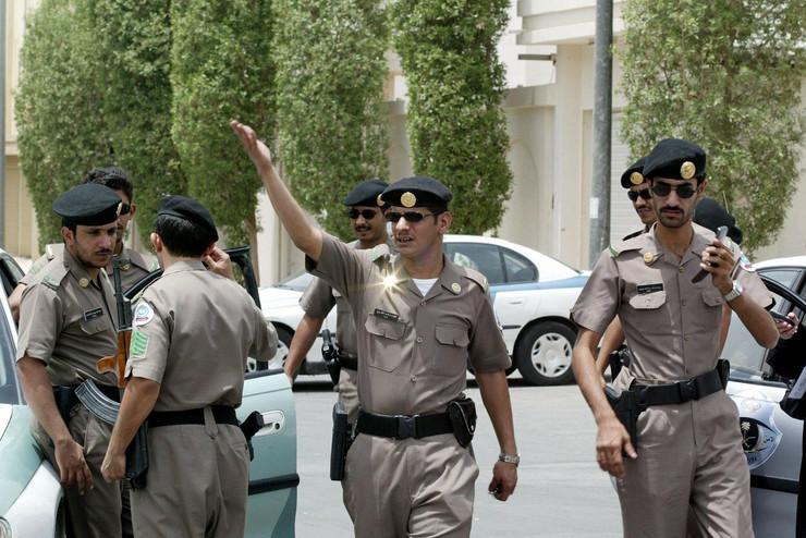 saudijska arabija policija