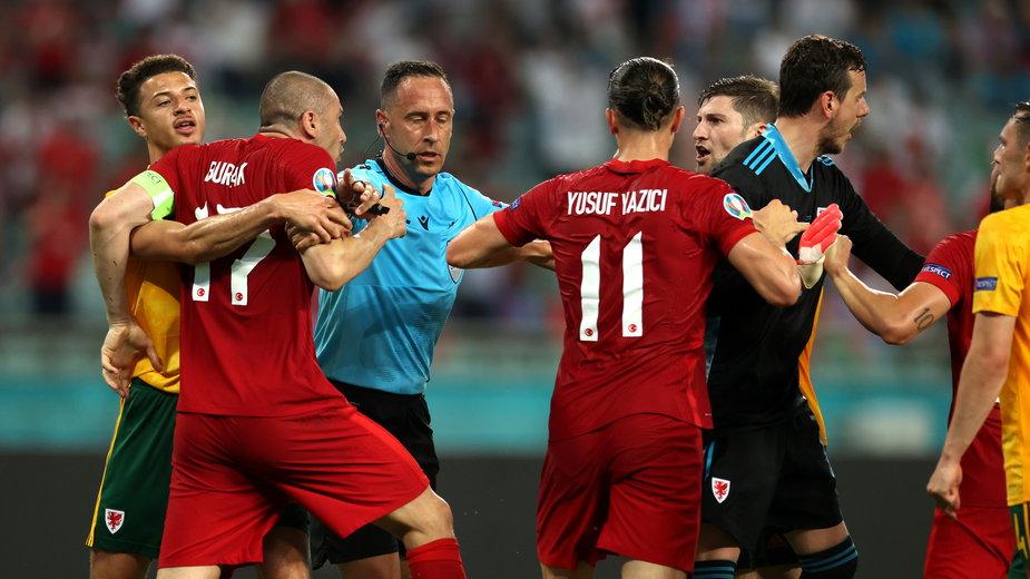 Mecz Turcja - Walia