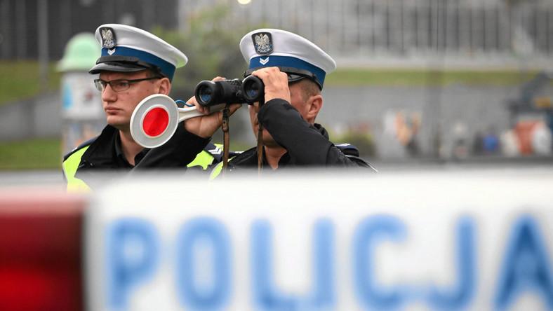 Policjanci z drogówki