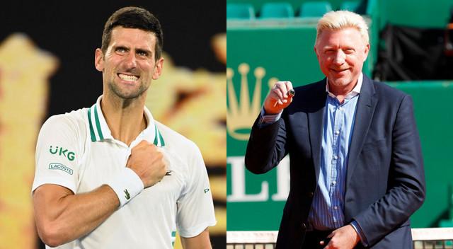 Dok mladi teniseri ne budu razmišljali kao on, Novak će da nastavi da ih čisti na velikim turnirima, rekao je Boris Beker