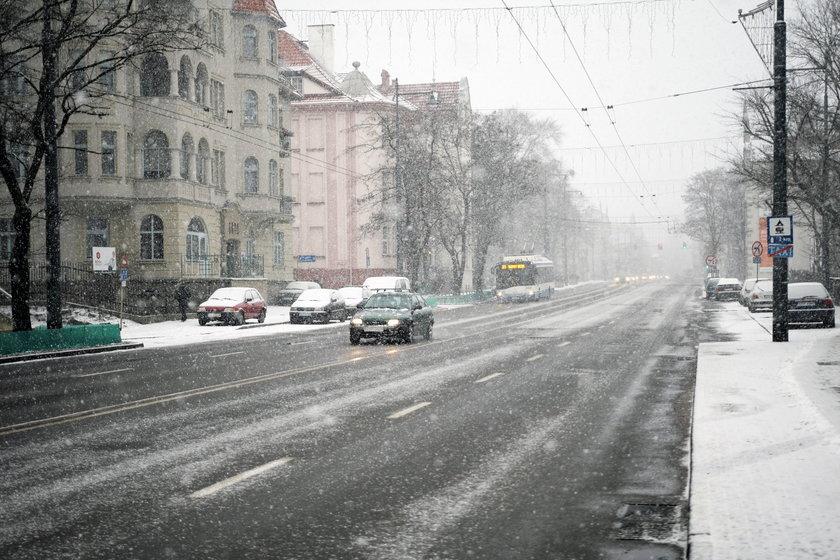 Mamy zimę w Trójmieście