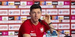 Pytanie o szczepienia wprowadziło Lewandowskiego w zakłopotanie. Czy kapitan reprezentacji Polski zdecydował się zaszczepić?