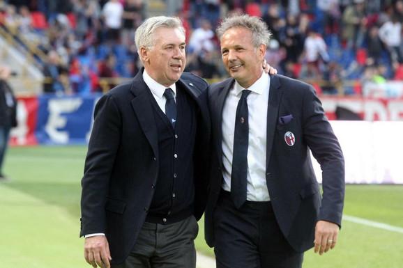 Karlo Anćeloti i Siniša Mihajlović