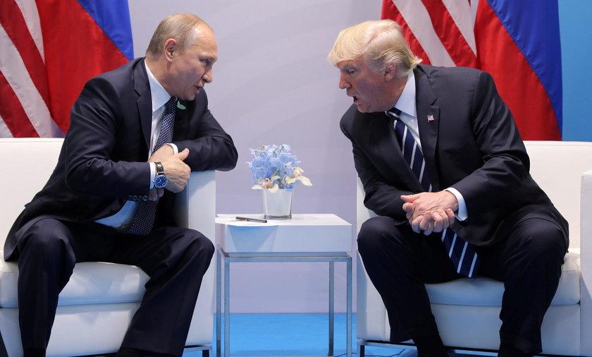Donald Trump i Wladimir Putin