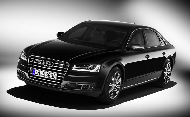 Długość 5,27 m i rozstaw osi 3,12 m - to wymiary opancerzonego Audi A8 L Security