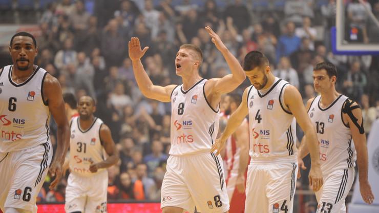 Edo Murić i košarkaši Partizana