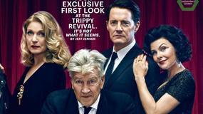 """David Lynch i aktorzy """"Miasteczka Twin Peaks"""" na okładkach """"Entertainment Weekly"""""""
