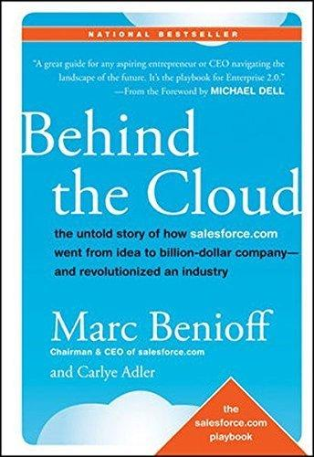 "Marc Benioff ""Behind the Cloud"""