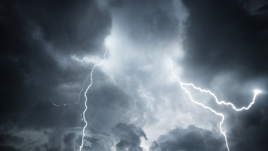W poniedzałek możliwe burze w Polsce