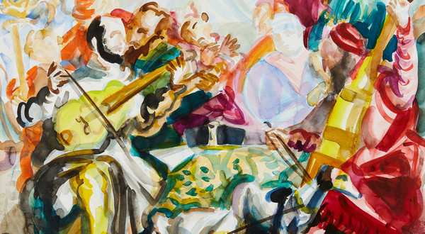 "Jan Bajtlik ""Musician after Veronese"" (2021)"