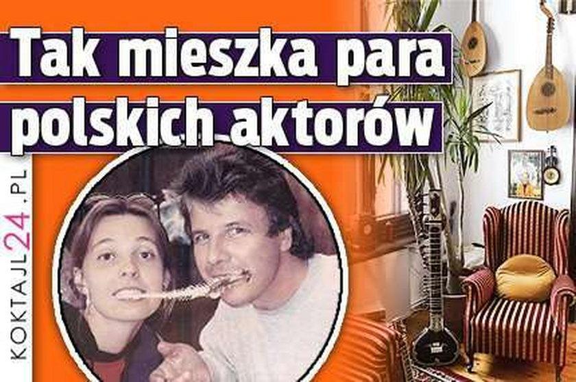 Tak mieszka para polskich aktorów