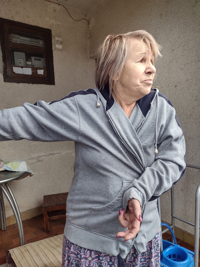 Otilija Micic majka Aleksnadra Micica koji je izboden