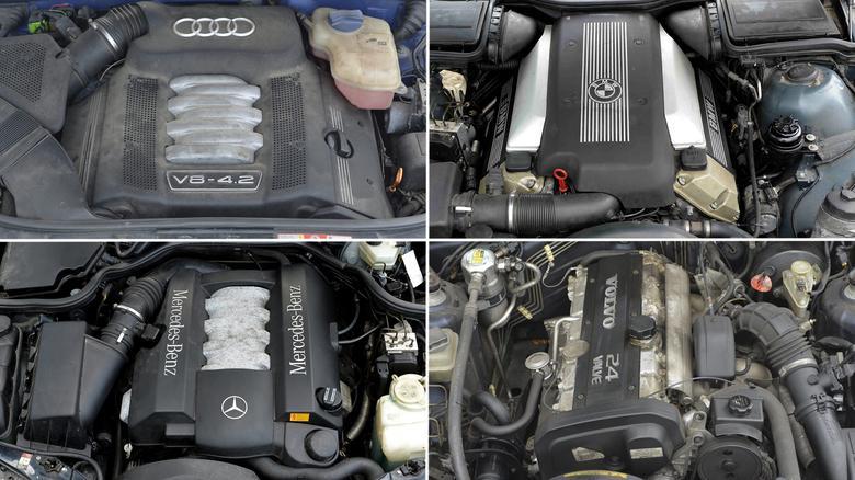 """Audi, BMW i Mercedesa możecie kupić w wersji V8, Volvo ma """"tylko"""" motor R6."""