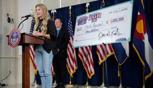 Heidi Russell, of Aurora, Colorado, was the fifth and final $1 million winner in the state's vaccine lottery.