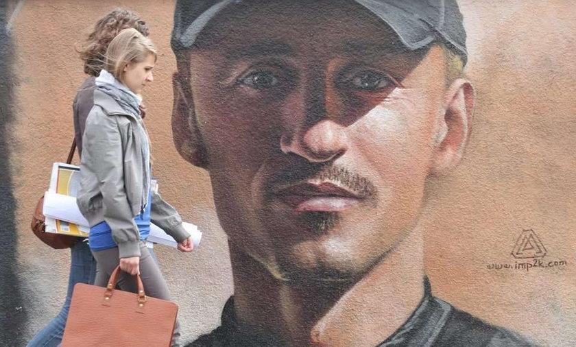 Zrobili Małyszowi mural