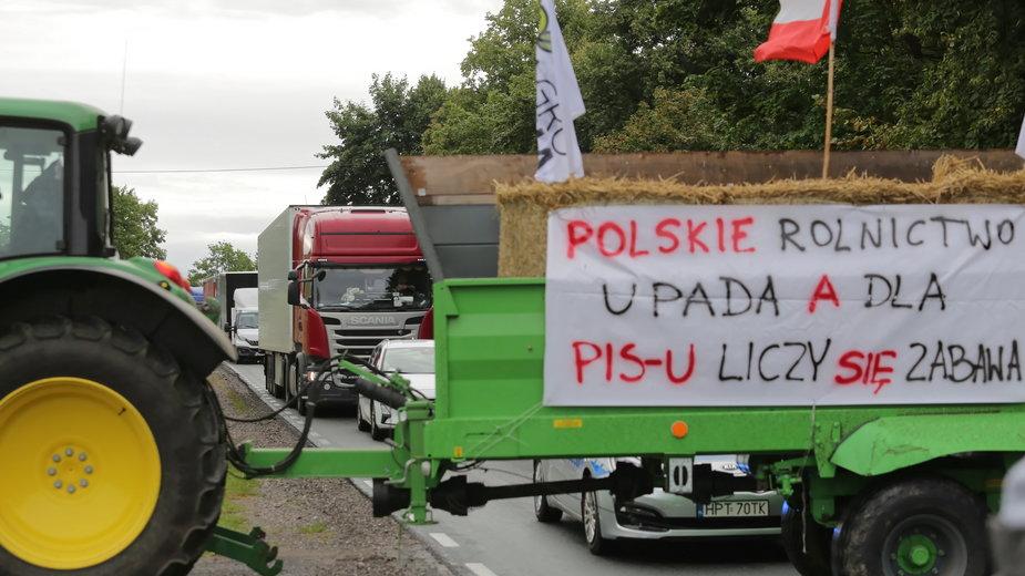 Protest rolników Agrounii i blokady dróg w Polsce. Gdzie utrudnienia? [LISTA]