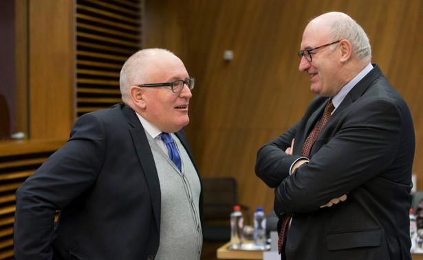 Frans Timmermans i Phil Hogan