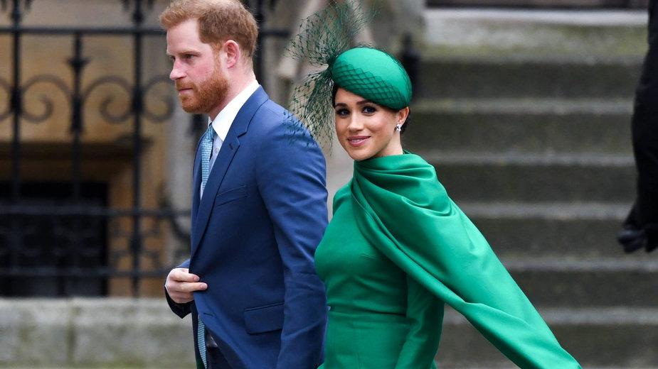 Meghan i Harry, jeszcze przed opuszczeniem W. Brytanii