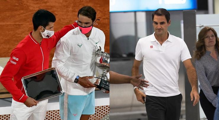 Đoković, Nadal i Federer