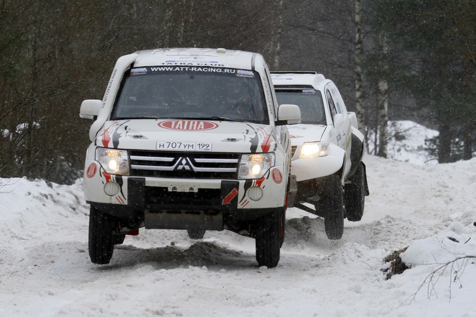 Baja Russia | Cross Country na kolcach