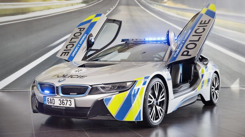 BMW i8 spotkamy w Czechach