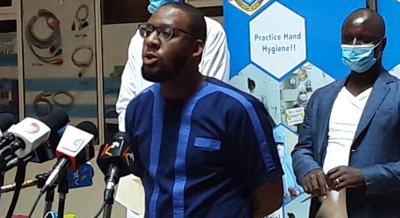 KMPDU Secretary General Chibanzi Mwachonda tests positive for Covid-19