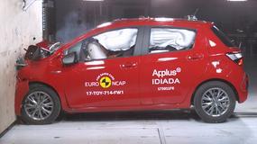 Euro NCAP: 15 aut rozbitych, tylko pieć z najwyższą oceną