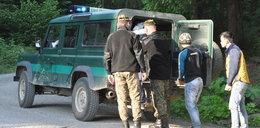 Nielegalni imigranci w Bieszczadach. Straż Graniczna w akcji