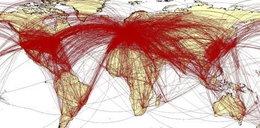 Specjalna mapa. Tak koronawirus rozniesie się po świecie?