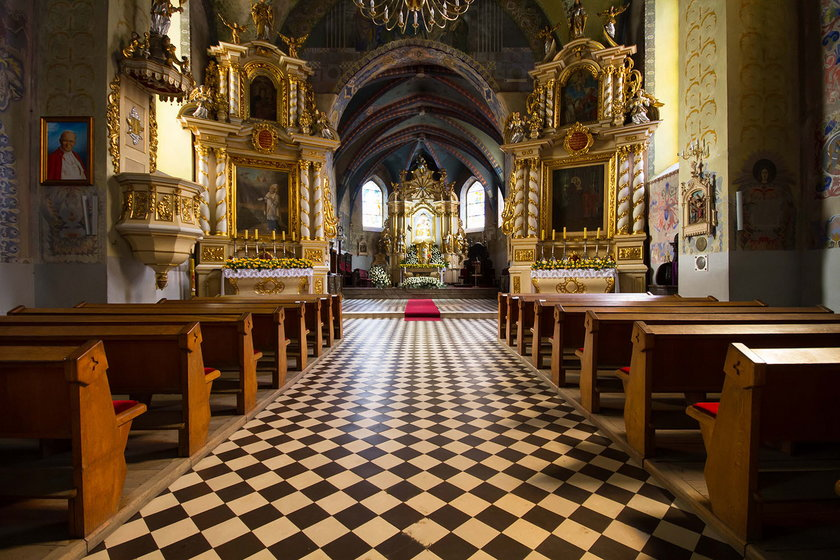 Kościół z XIV wieku