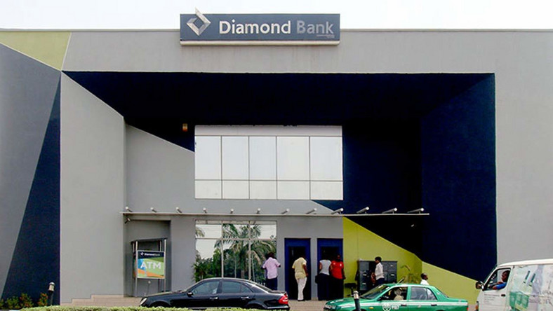 Diamond Bank office used to illustrate the story